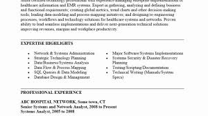 Resume Samples For Healthcare Industry Archives