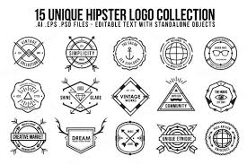 Unique Hipster Logo By Orca Creative