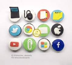 Computer X Office Theme Cupcakes