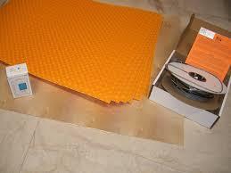Schluter Ditra Tile Underlayment by Ditra Heat Kit System Dhek12040 Schluter Amazon Com