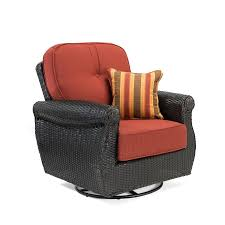La-Z-Boy Outdoor Breckenridge Woven Metal Swivel Rocking Chair(s ... Generations Outdoor Wicker Swivel Rocker Ding Armchair Astoria Glider Summer Classics Fniture Elegant Bamboo Fniture Java Handmade Design Hanover Orleans Rocking Chair Set Of 2 In Lazboy Breckenridge Resin Piece Patio Brick Red With All Weather Sunbrella Cushions 3piece Allweather Chat Sahara Sand Waverly Yabird Lloyd Flanders Contempo Recliner Corvus Eolie 3piece Side Table Severn Lounge Sunbrite Sonoma Goods For Life Presidio