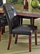 Cheap Leather Parsons Chairs by Leather Parsons Chair Ebay
