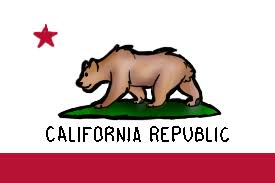 California Flag Thingy Bear Drawing From Deviantart