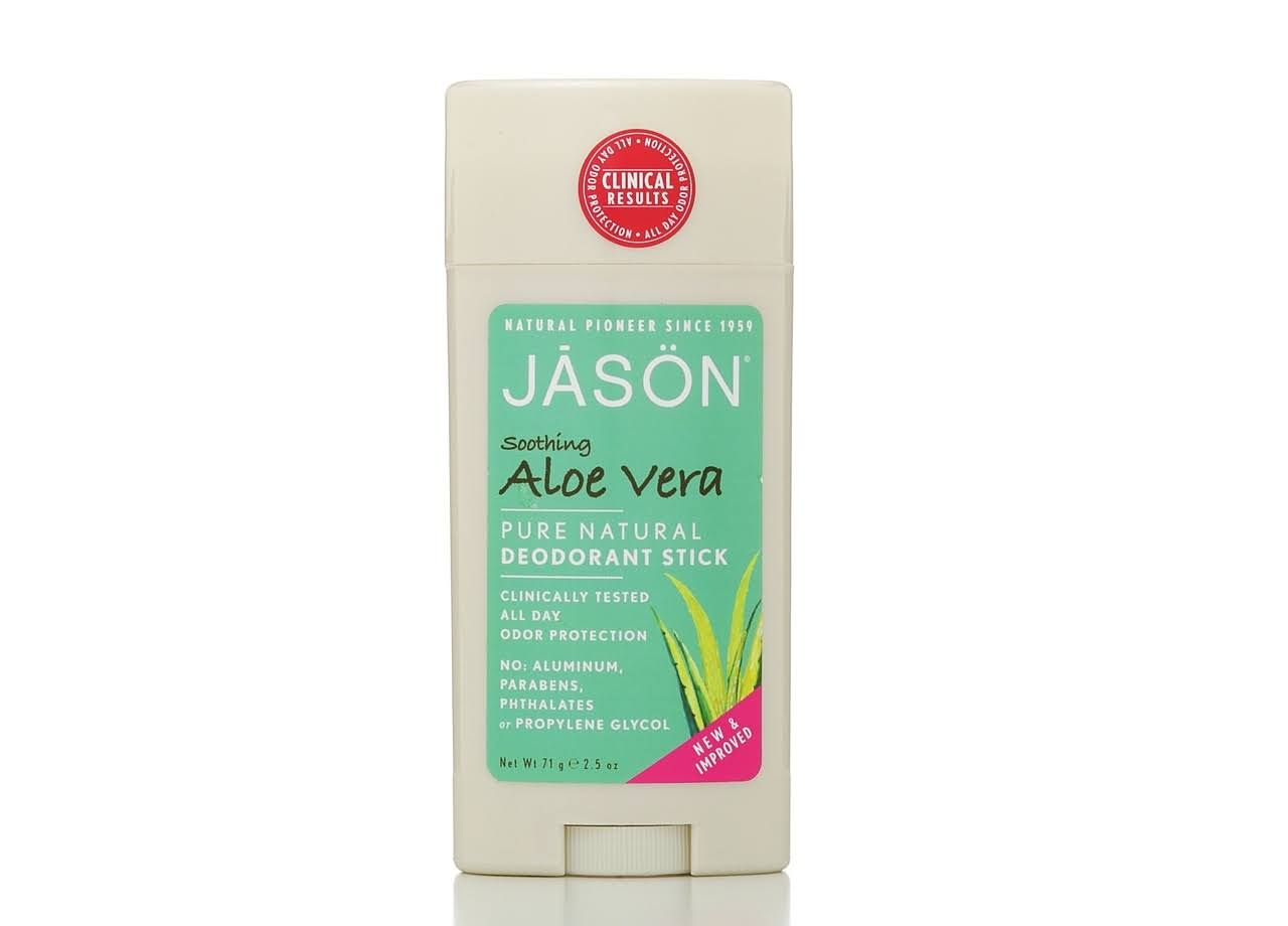 Jason Pure Natural Deodorant Stick - Soothing Aloe Vera