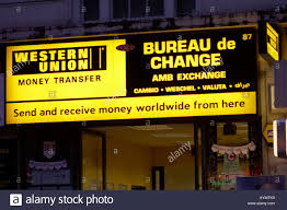 union transfer bureau de change in uk stock