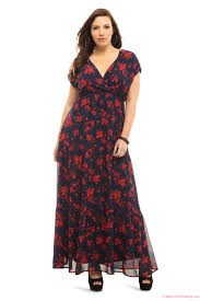 floral dresses for curvy women 2017