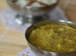 poudre de riz cuisine m halbi entremet à la poudre de riz recette ptitchef