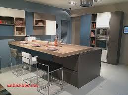 plan ilot cuisine ilot avec table coulissante pour idees de deco de cuisine