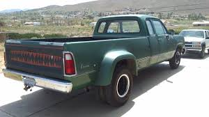 BangShift.com This 44k Mile 1974 Dodge Club Cab Dually Is The ... Dodge Dw Truck Classics For Sale On Autotrader 1974 Ram 74do8465c Desert Valley Auto Parts Curbside Classic 1975 Power Wagon A Sortof Civilized Automotive History The Case Of Very Rare 1978 Diesel 7 Best Movie Pickup Trucks Macho Sale Bat Auctions Sold D100 57 Hemi V8 Five Speed Custom Pickup Youtube Bangshiftcom Big Horn Semi Classiccarscom Cc1074735 1985 Duall Rear Axle Steel Cowboys Pinterest W200 Crew Progject Resource Forums