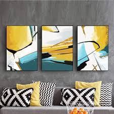 nordic abstrakte wohnzimmer schlafzimmer nacht malerei sofa