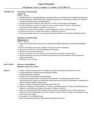 Download Welding Supervisor Resume Sample As Image File