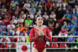 Aly Raisman Floor Routine Olympics 2016 by This Photo Of Aly Raisman Realizing She Won Silver Is A Beautiful