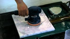Floor Buffer Polishers Home Use by Marble Polishing By Orbital Sander Youtube
