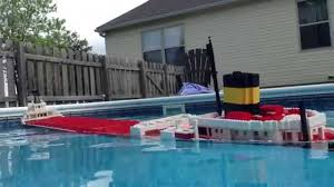 What Year Did The Edmund Fitzgerald Sank by Sinking Lego Edmund Fitzgerald Model 3 3 Youtube
