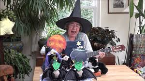 Shake Dem Halloween Bones Book by We U0027re Witches Of Halloween An Action Song Youtube