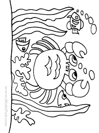 Free Printable Sea Animals Coloring Book For Kids