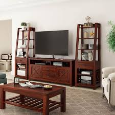 Living Room Tv Stand Unit Cabinet Console Furniture With Led