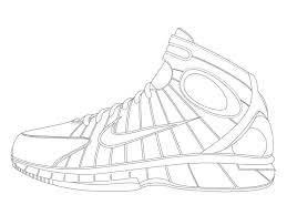 Coloring Pages Kids Adults Kobe Bryant Pictures Shoes Printable Full Size