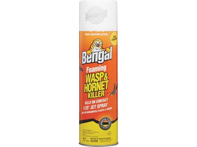 Bengal Foaming Wasp and Hornet Killer Spray - 18oz