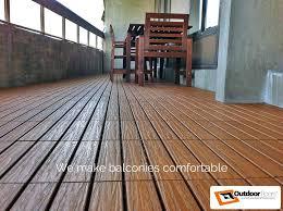 Balcony Deck Flooring Floor Outdoor Ideas Tiles Hardwood Near Me