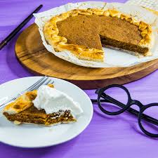 Homemade Pumpkin Pie With Molasses by Treacle Tart Harry Potter Recipes