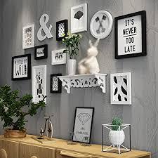 europäische holz bilderwand bilderrahmen galerie schlafzimmer restaurant wand sammlung farbe b