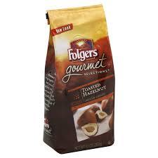Folgers Gourmet Toasted Hazelnut Ground Coffee 10 Oz