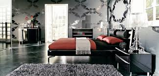 48 Samples For Black White And Red Bedroom Decorating Ideas 4