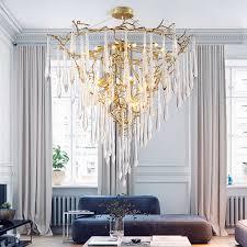 licht luxus kronleuchter große kronleuchter duplex villa