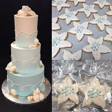 Wedding Cakes Ombre Beach Starfish Favors