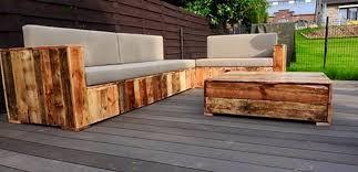 Beautiful Pallet Wood Patio Furniture