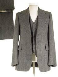 Flared 3 PIECE Vintage 1960s 1970s Suit 36R 32W