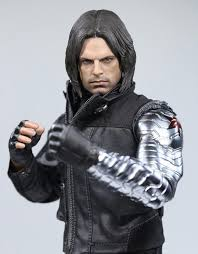 Pre Order 1 6 Winter Soldier Bucky Barnes With Mechanical Arm Captain American Civil War Action Figure Combat Suit Version Box