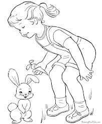 Free Printable Kids Easter Coloring Pages Are Fun