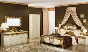 klassische kommode schlafzimmer beige gold hochglanz stil