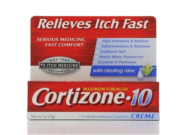 Cortizone-10 Maximum Strength Anti-Itch Cream - 1oz