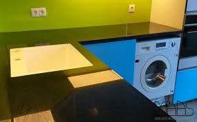 Ikea Küchenschrank Für Waschmaschine Bonn Ikea Küche Mit Nero Assoluto Granit Arbeitsplatten
