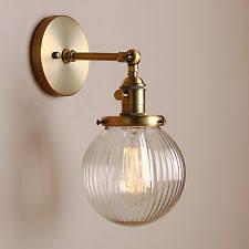 globe wall light ebay