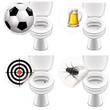 10 x wc aufkleber fliege toilettensticker bad ausstattung