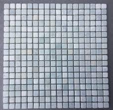 ming green marble tile 5 8 x5 8 tumbled mesh mounted tile