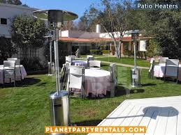 Outdoor Patio Heater Rentals with Propane Tank