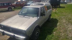 1980 Volkswagen Rabbit Truck Volkswagen Diesel Pickup -- Antique ...