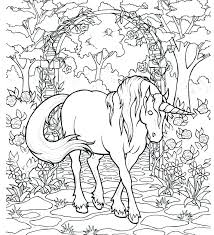 Unicorn Coloring Pages Hard Together With Baby