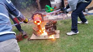 Metal Casting Cast Iron - Backyard Foundry - YouTube The Worlds Best Photos Of Backyardmetalcasting Flickr Hive Mind Foundry Facts Making Greensand At Home For Metal Casting Youtube Casting Furnaces Attaching A Long Steel Wire Handle Paul Andrew Lifts Redhot Backyard Metal And Homemade Forges Photo On Stunning Backyards Wonderful 63 Chic A Cheap Air Blower Back Yard Or Forge Make Quick And Dirty Backyard Mold