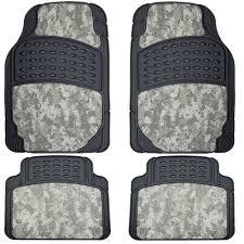 100 Camo Floor Mats For Trucks UAA 9026 Digital Hunting 4pc Set Uflage Car Front Rear