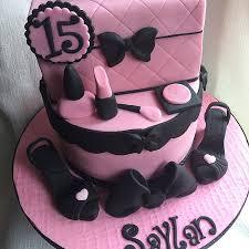 Girls 15th Birthday Cake happy birthday Saylan xx