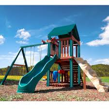 Exterior: Enchanting Landscape Design With Appealing Wood Gorilla ... Outdoors Gorilla Swing Sets Playsets Sears Backyard Discovery Weston All Cedar Playset The Home Depot Image Srtspower Timber Play Ii With Balcony Set Amazing For Cool Kids Playground Ideas Ii Playtime Fun For From Somerset Manual Outdoor Decoration Safari Images Wood Pictures Mesmerizing Nice Dazzling Design Of