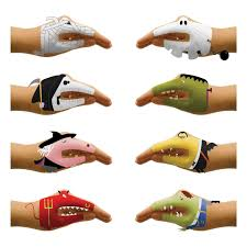 Kids Temporary Tattoo Stickers Scary Hands Childrens Party Fun