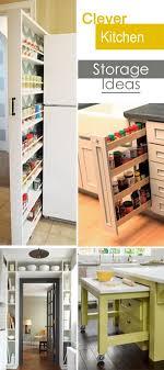 Kitchen Storage Ideas Pictures Clever Kitchen Storage Ideas Hative