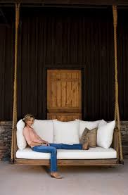 Better Homes And Gardens Patio Swing Cushions by Beautiful Farm House Hanging Porch Swing Bed Rachel Halvorson